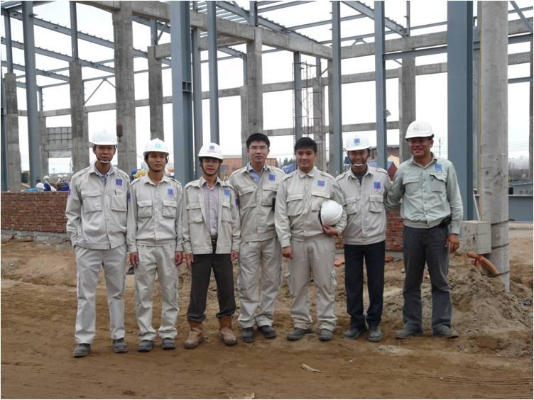 thực tập sinh xây dựng tại Nhật Bản