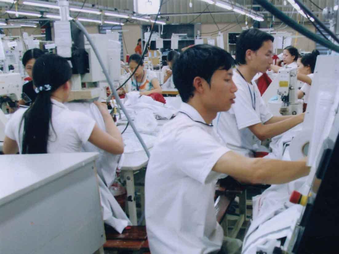 thực tập sinh làm may mặc tại Nhật Bản