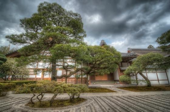 Khu vườn Reiki của Đền Bạc