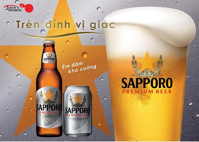 """Sapporo Premium Beer - Sản phẩm nâng tầm chất lượng mang tinh thần """"đổi mới sáng tạo"""" từ Nhật"""