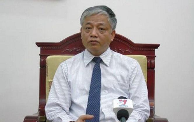 Thứ trưởng Doãn Mậu Diệp trả lời báo chí chiều ngày 5-7 - Ảnh: K.T/trang web Đảng cộng sản