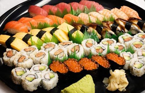 Nguồn gốc của sushi Nhật Bản