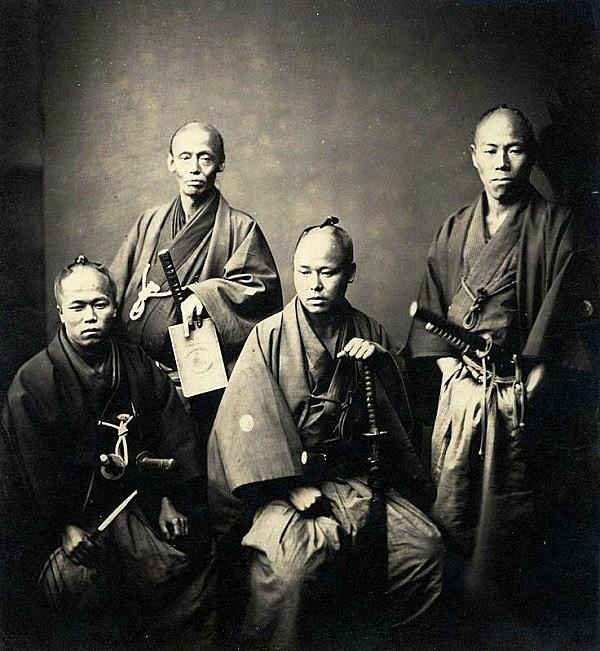 Samurai Nhật Bản thời xưa