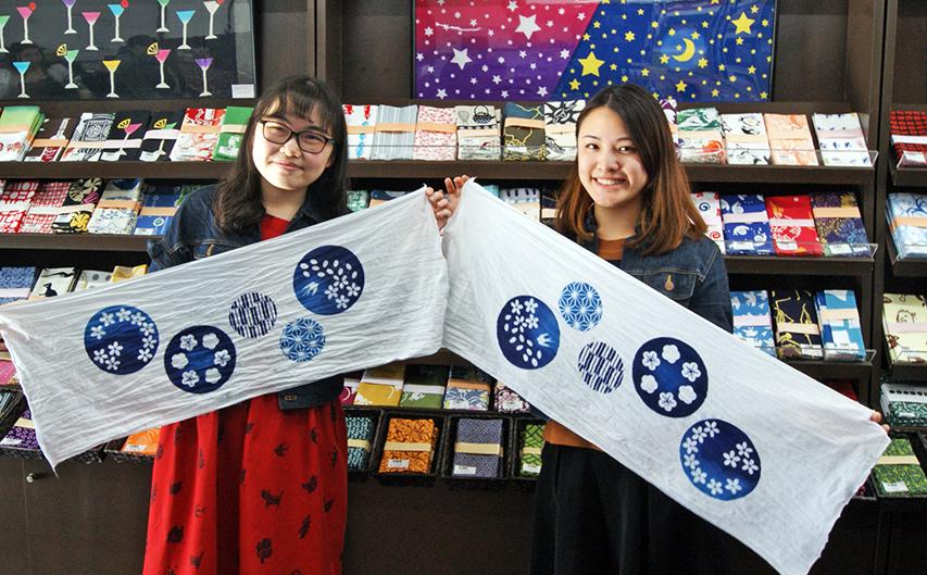tenugui chiếc khăn văn hoá của nhật bản