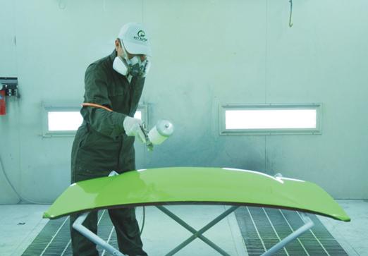 Làm sơn kim loại ở Nhật Bản