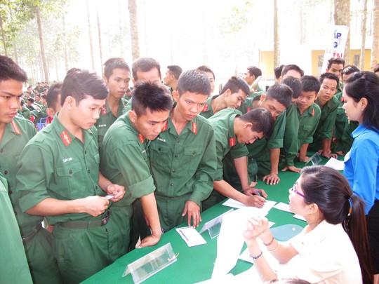 Bộ đội xuất ngũ tham gia đăng ký chương trình XKLĐ Nhật Bản