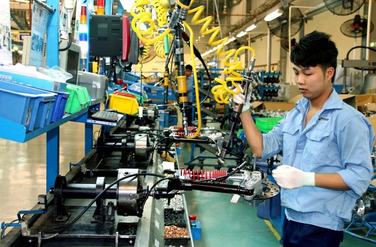 Làm gia công cơ khí kim loại tại Nhật Bản