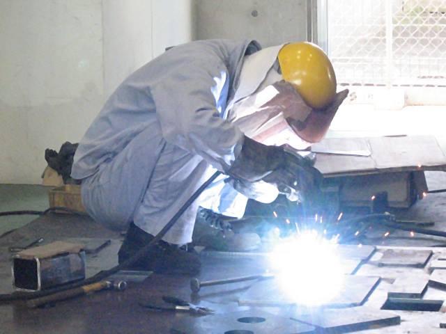 Đơn hàng cơ khí hàn thi tuyển tay nghề tại trung tâm thực hành nghề
