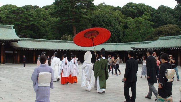 Đám cưới ở Nhật Bản