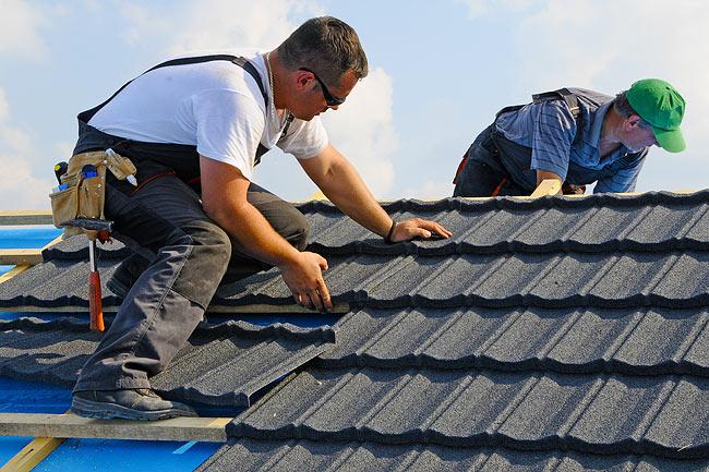 Đơn hàng xây dựng - Lợp ngói mái nhà
