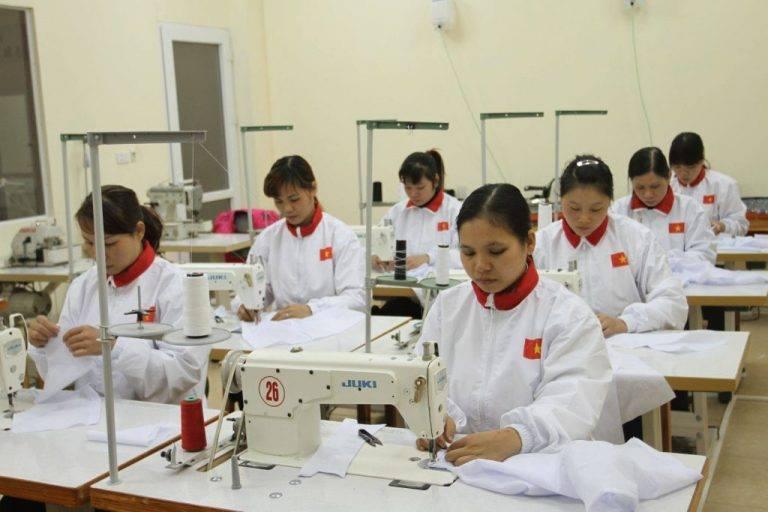 Xuất khẩu lao động Nhật Bản ngành may mặc 2018