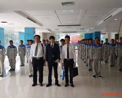 Buổi thi tuyển tay nghề đơn hàng cơ khí