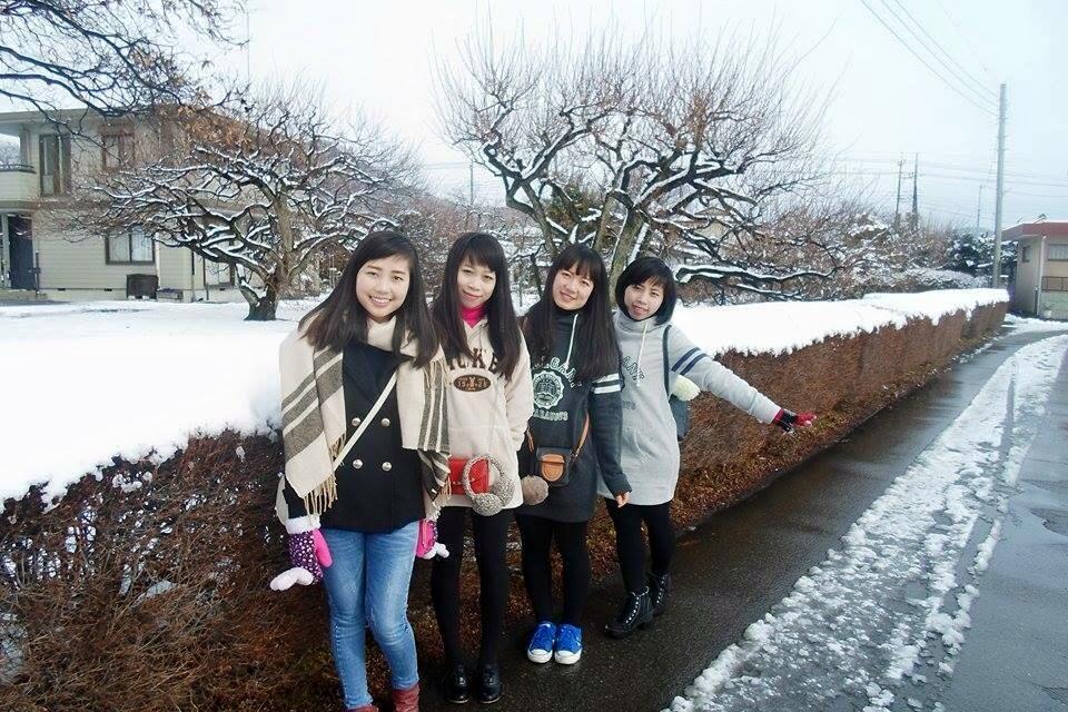 TTS trải nghiệm mưa tuyết lạnh giá