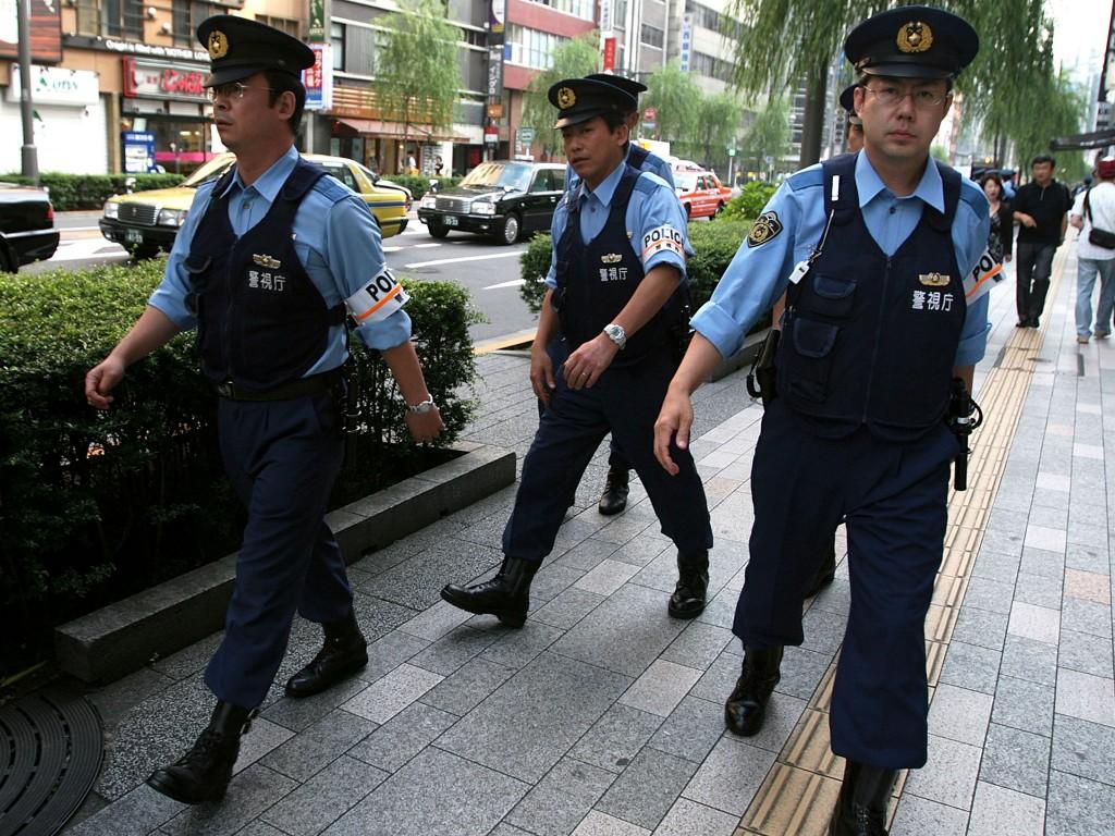 Cảnh sát Nhật Bản có mặt mọi lúc mọi nơi