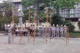 TTS thi tuyển đơn hàng xây dựng - giàn giáo