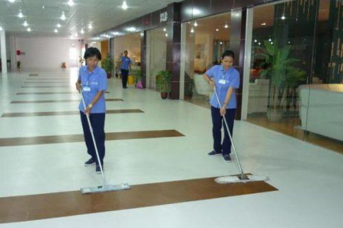 tuyển nữ làm vệ sinh tòa nhà ở Nhật Bản