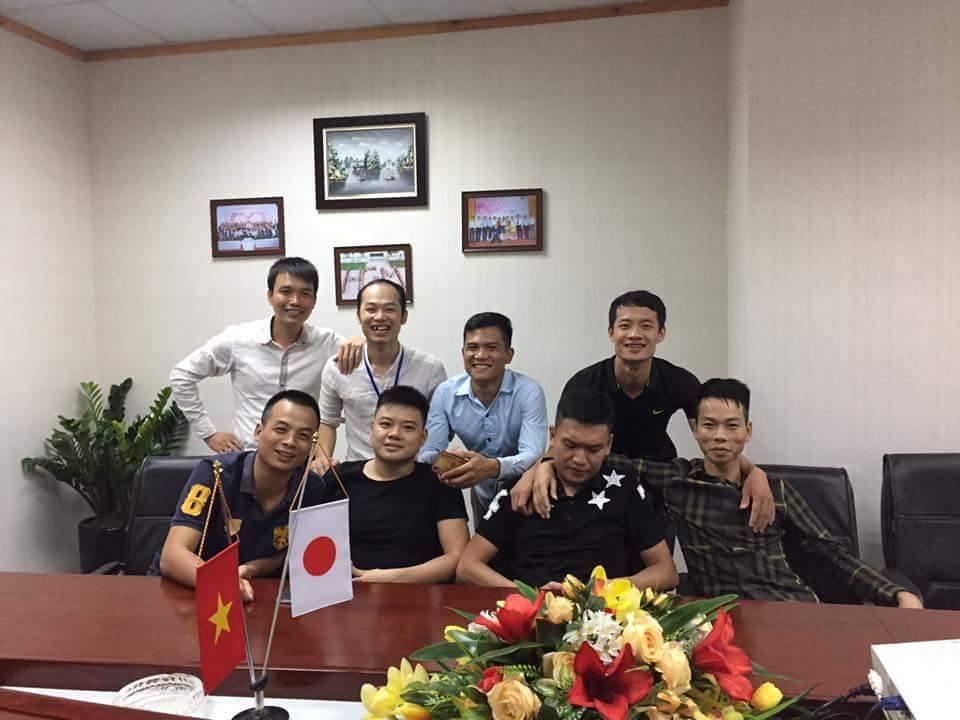 Các bạn ứng viên vui mừng trúng tuyển kỹ sư IT Nhật Bản