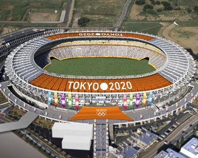 Xây dựng phục vụ cho các công trình thế vận hội 2020