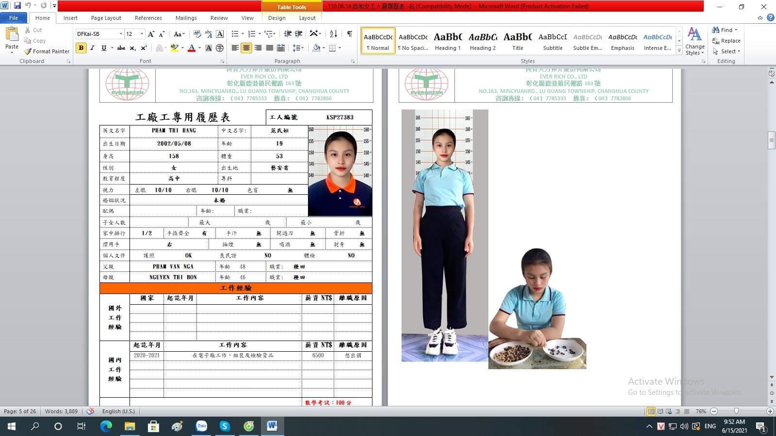 đo chiều cao khi đăng kí thi tuyển xuất khẩu lao động Nhật Bản