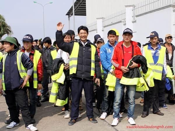 Những lao động xây dựng đang làm việc tại Nhật Bản