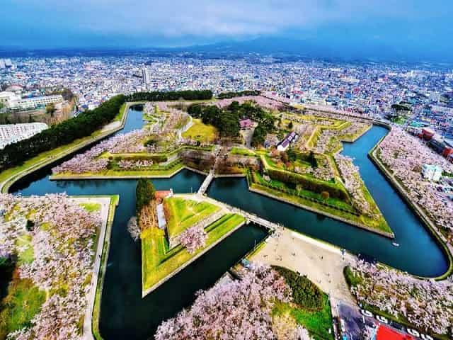 Một bức tranh tuyệt vời Hokaido
