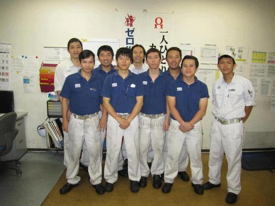 Kỹ sư làm việc tại Nhật Bản