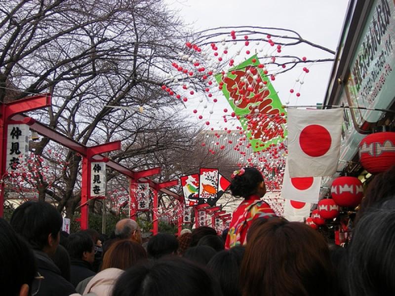 lễ hội truyền thống ngày lịch đỏ của Nhật