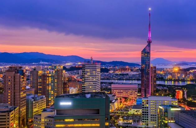 Kyushu là một trong những khu vực đông dân nhất của Nhật Bản