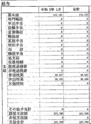 Chi tiết bảng lương đơn hàng Chế biến Thủy hải sản bằng tiếng Nhật (Hình 1)