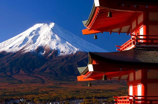 Chubu sở hữu ngọn núi Phú Sĩ - một trong những biểu tượng đặc trưng nhất của Nhật Bản