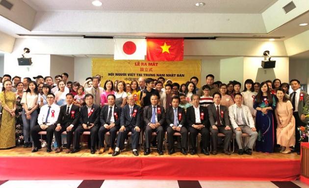 Tỉnh thành tập trung đông người Việt ở Nhật Bản nhất là những tỉnh nào?