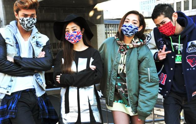 Văn hóa đeo khẩu trang của người Nhật Bản còn xuất phát từ phong cách thời trang