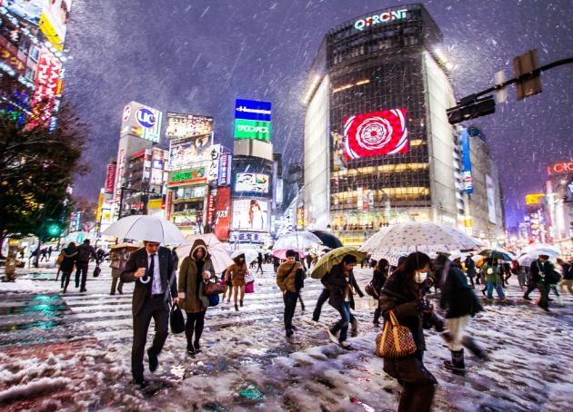 Khí hậu Nhật Bản vào mùa đông mang lại kiểu thời tiết lạnh và có tuyết rơi ở nhiều khu vực