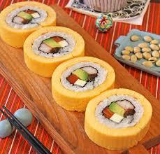 món trứng cuộn truyền thống vào dịp tết của người Nhật