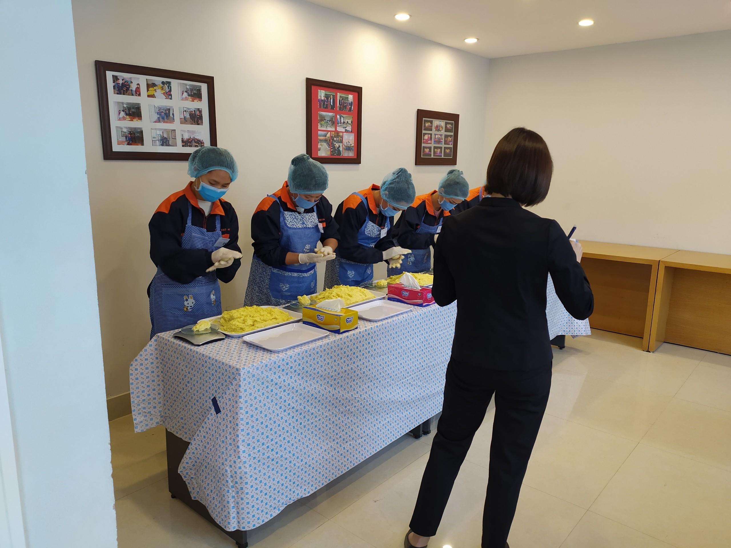 danh sách chốt và nội dung thi tuyển đơn hàng làm bánh Ibaraki 26.3