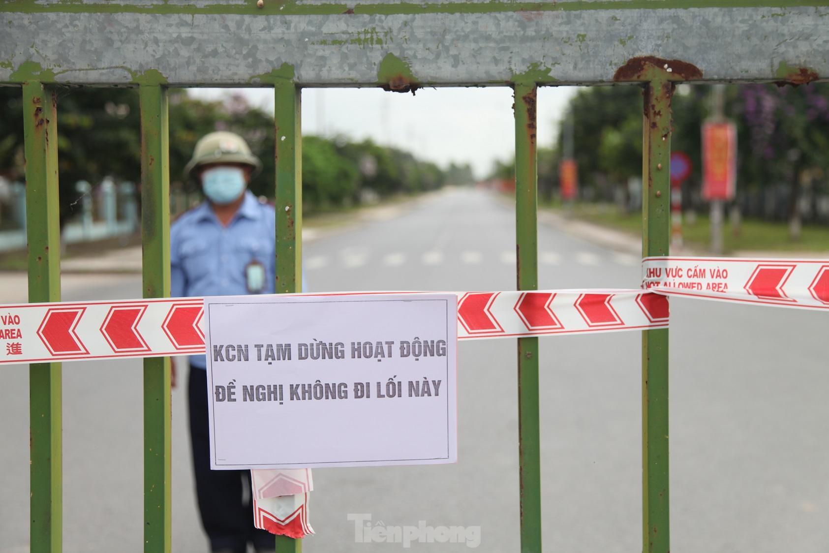 Các doanh nghiệp, khu công nghiệp đóng cửa tạm thời