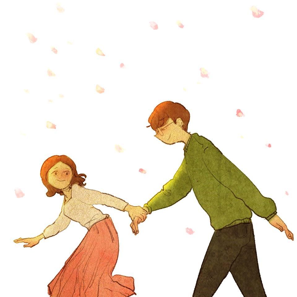 Tình yêu của Hương và Sơn đẹp như câu chuyện cổ tích. (Ảnh minh họa)