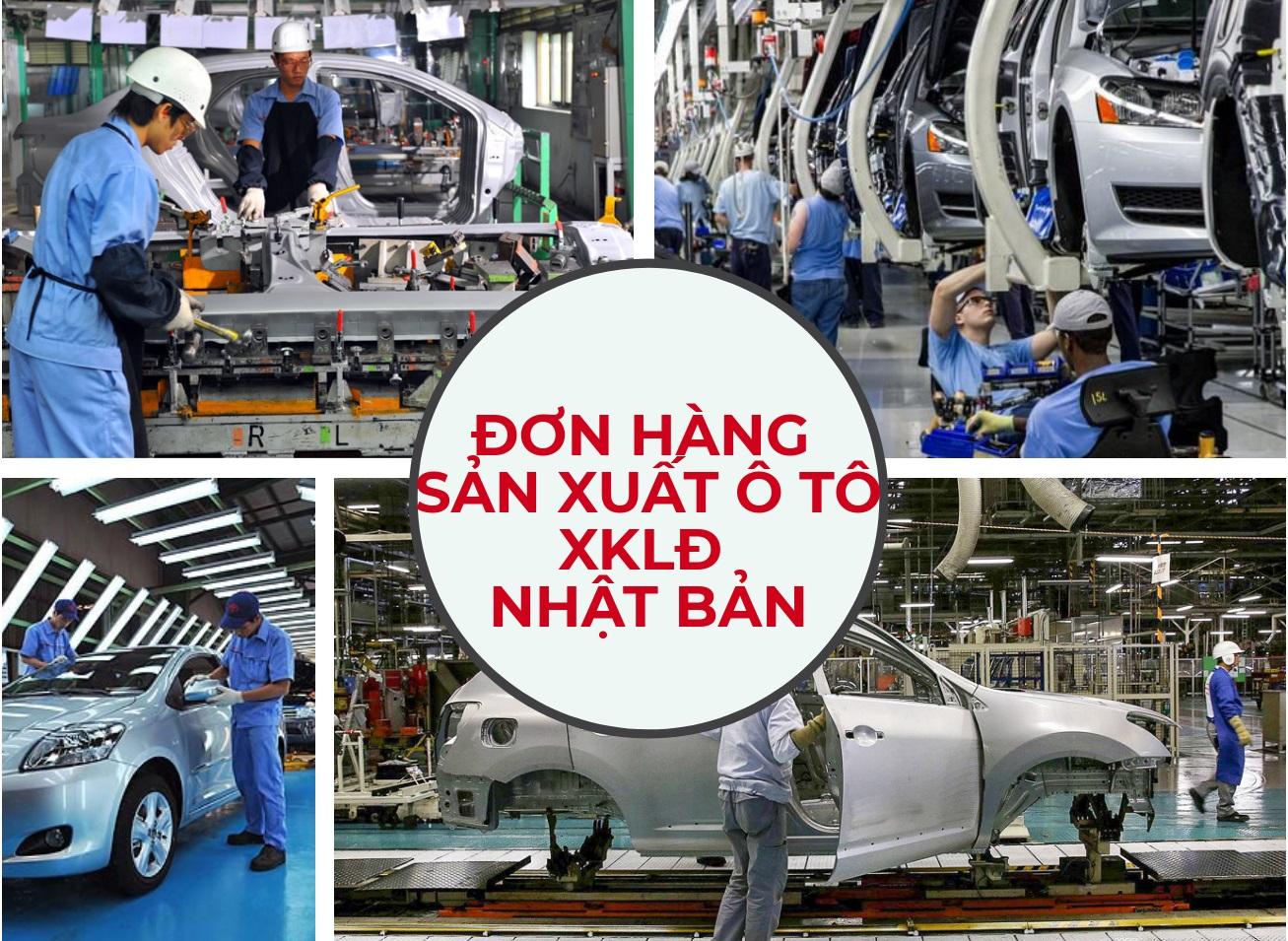 Đơn hàng ngành ô tô rất nhiều việc làm thêm, tạo nguồn thu nhập cao