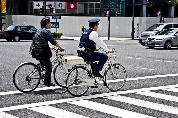Xe đạp cũng là phương tiện rất được ưa chuộng tại Nhật Bản