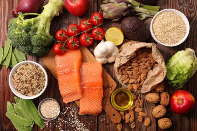 ăn uống đa dạng giàu dinh dưỡng