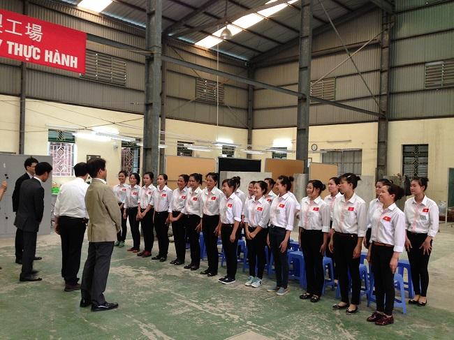 thi tuyển đơn hàng đi Nhật của Bộ lao động