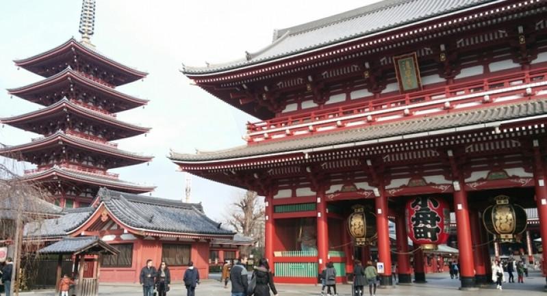 Chùa Sensoji – Asakusa Kannon