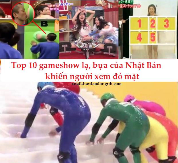 Top 10 gameshow truyền hình lạ, bựa của Nhật Bản