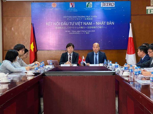 Hội thảo giao thương trực tuyến kết nối đầu tư Việt Nam- Nhật Bản (ảnh sưu tầm)