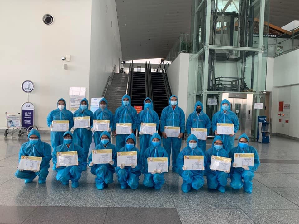 hình ảnh tts xuất cảnh tại sân bay Nội Bài